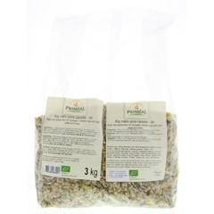 Primeal Rijst erwten gebroken vlas (3 kg)