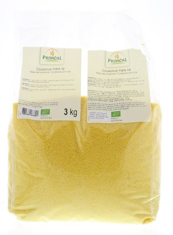 Primeal Primeal Couscous mais rijst (3 kg)