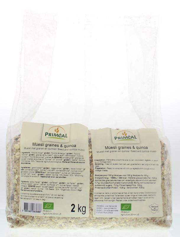 Primeal Primeal Muesli granen en quinoa (2 kg)