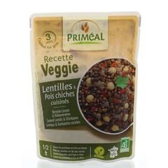 Primeal Recette Veggie linzen en erwten (250 gram)