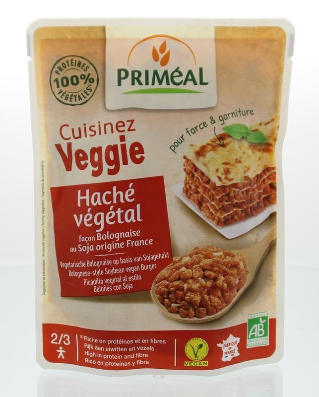 Primeal Primeal Cuisinez Veggie gehaktsaus bolognese (250 gram)