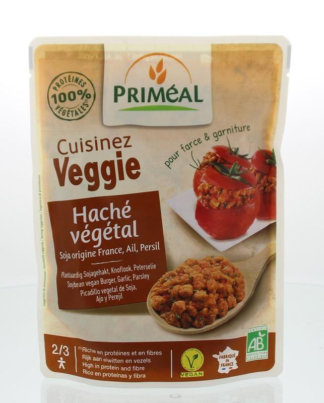 Primeal Primeal Cuisinez Veggie gehaktsaus knoflook peterselie (250 gram)