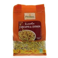 Primeal Quinoa granola turmeric (450 gram)