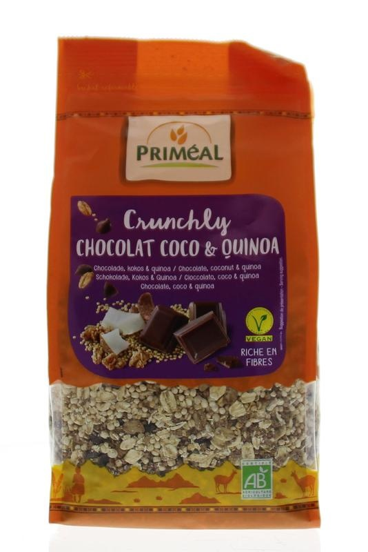 Primeal Primeal Crunchly choco coco quinoa (360 gram)