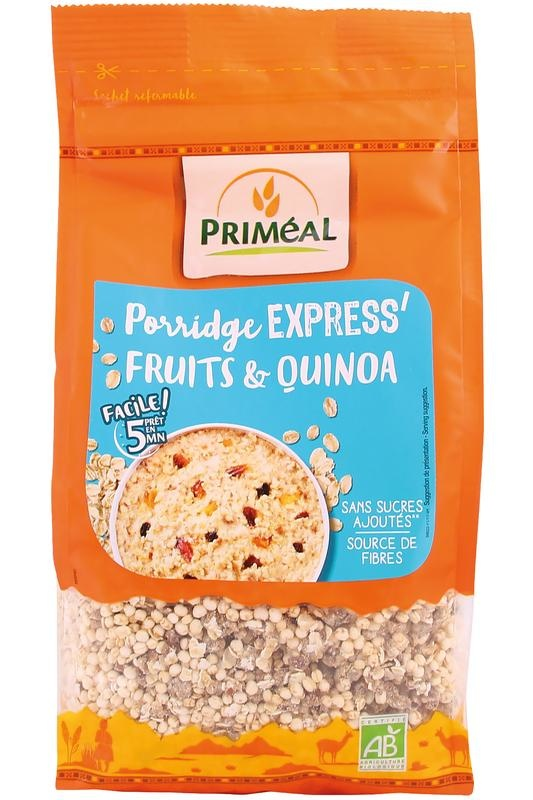 Primeal Primeal Quinoa & fruit pap (350 gram)