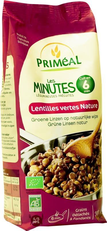 Primeal Primeal Groene linzen voorgekookt klaar in 6 minuten (300 gram)