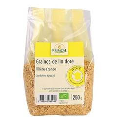 Primeal Lijnzaad goud (250 gram)