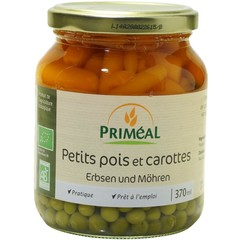 Primeal Doperwten wortelen (370 ml)