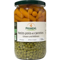 Primeal Doperwten wortelen (720 ml)