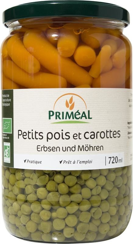 Primeal Primeal Doperwten wortelen (720 ml)