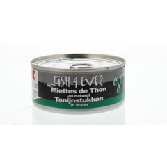 Fish 4 Ever Tonijnstukken in water (160 gram)