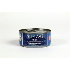 Fish 4 Ever Tonijnmoot in water zoutarm (160 gram)