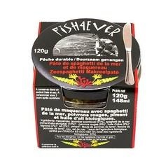 Fish 4 Ever Zeespaghetti makreelpate (120 gram)