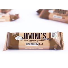 Jiminis Energiereep appel kaneel karamel (40 gram)