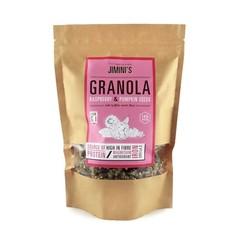 Jiminis Muesli framboos cranberry pompoenpit (250 gram)