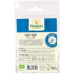 Primeal Agar agar 6 x 2 gram (12 gram)