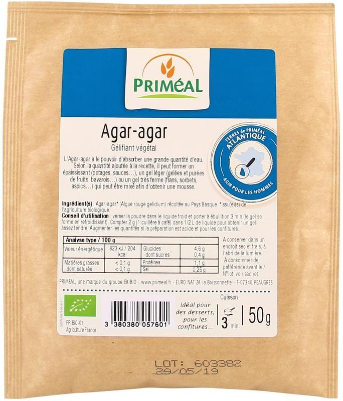 Primeal Primeal Agar agar (50 gram)