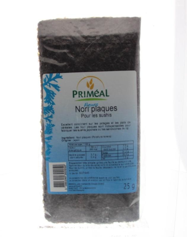 Primeal Primeal Nori vellen (25 gram)