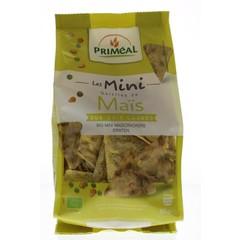 Primeal Bio mini maiscrackers met erwten (90 gram)