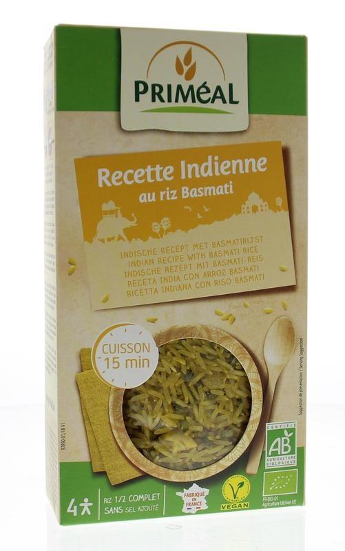 Primeal Primeal Basmati rijst Indiaans recept (250 gram)