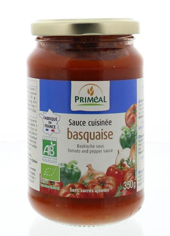 Primeal Primeal Basquaise saus (350 gram)