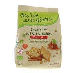 Ma Vie Sans Crackers erwt tomaat basilicum (100 gram)