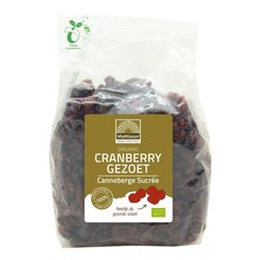 Mattisson Organic cranberry bessen gezoet (400 gram)