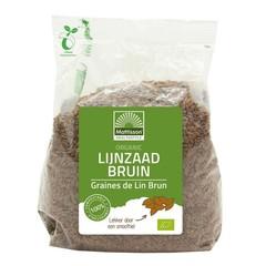Mattisson Organic lijnzaad bruin heel omega 3 (405 gram)