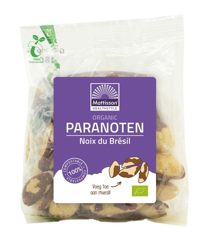 Mattisson Mattisson Paranoten bio (200 gram)