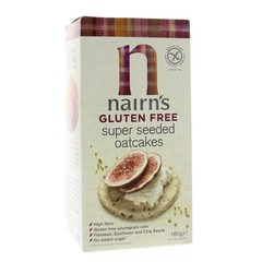 Nairns Oatcakes super seeded (180 gram)