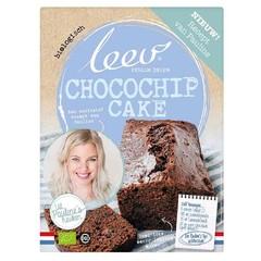 Leev Bio Pauline's mix chocochip cake (375 gram)