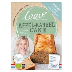 Leev Bio Pauline's mix appel kaneel cake (260 gram)