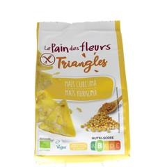 Pain Des Fleurs Triangles mais curcuma (50 gram)