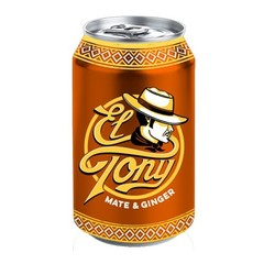 El Tony Mate & ginger (330 ml)