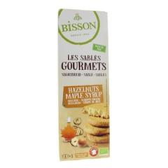 Bisson Zandkoekje hazelnoot ahornsiroop (150 gram)