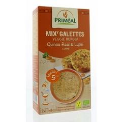 Primeal Quinoa burger quinoa lupine (250 gram)