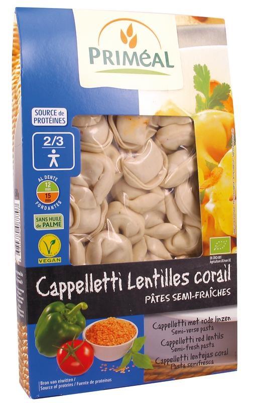 Primeal Primeal Cappelletti met linzen (250 gram)