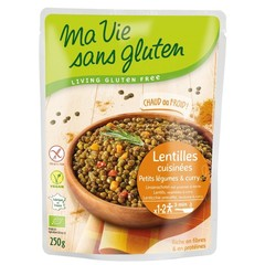 Ma Vie Sans Linzenschoten groente en curry (250 gram)