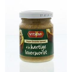 Vitam Groente-spread a la hartige leverworst vegan (120 gram)