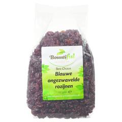 Bountiful Rozijnen blauw ongezwaveld (500 gram)