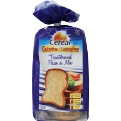 Cereal Brood toast glutenvrij (350 gram)