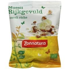 Zonnatura Muesli rijk gevuld bio (50 gram)