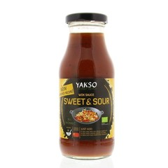 Yakso Woksaus sweet & sour (240 ml)