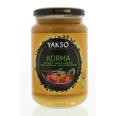Yakso Roerbaksaus korma (350 gram)