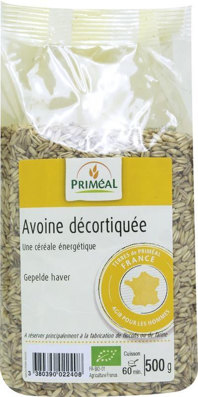 Primeal Primeal Gepelde haver (500 gram)