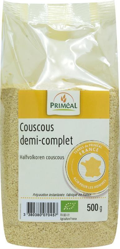 Primeal Primeal Couscous halfvolkoren (500 gram)