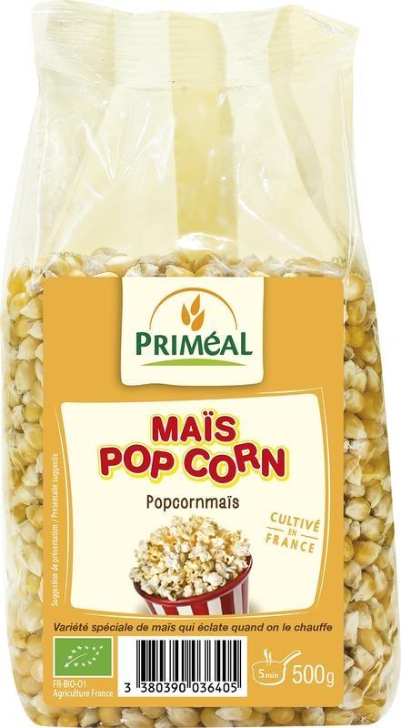 Primeal Primeal Popcorn mais (500 gram)