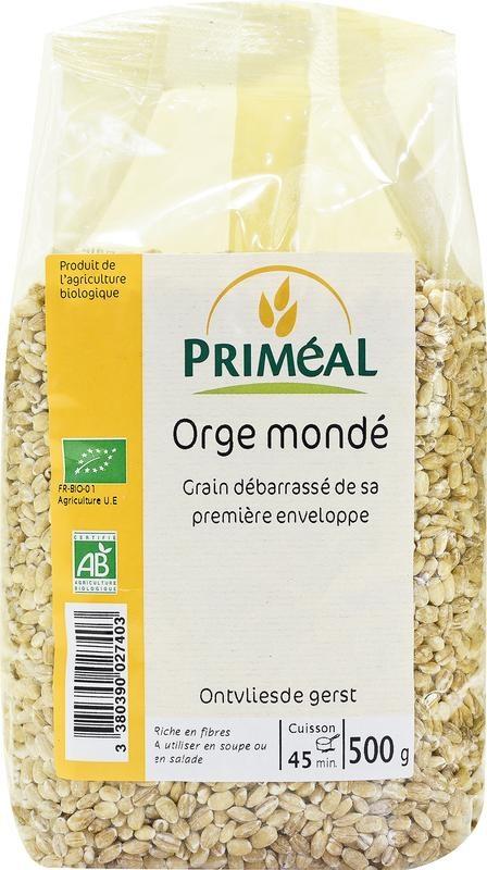 Primeal Primeal Ontvliesde gerst (500 gram)