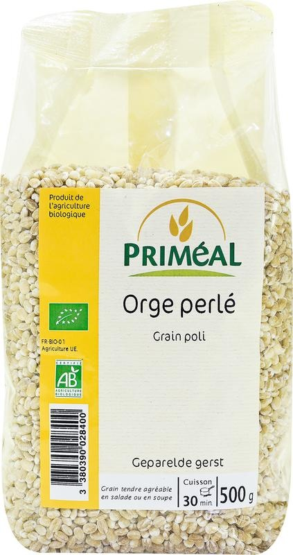 Primeal Primeal Geparelde gerst (500 gram)