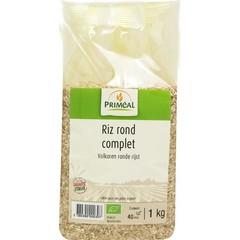 Primeal Volkoren ronde rijst (1 kilogram)